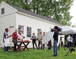 Salem Cross Inn, West Brookfield, MA - on the set of Man, Fire, Food