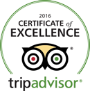 Trip Advisor Certificate of Excellence 2016 -- Salem Cross Inn, West Brookfield, MA