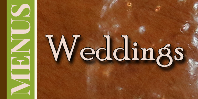 Click here to view our Wedding Menu