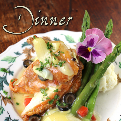 Click here to view our Dinner Menu