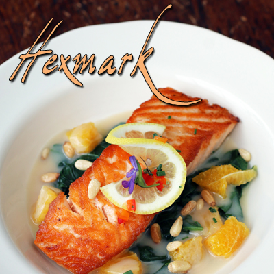 Click here to view our Hexmark Menu