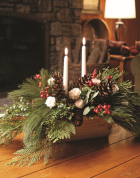 Christmas Centerpiece image for Deck the Hall event