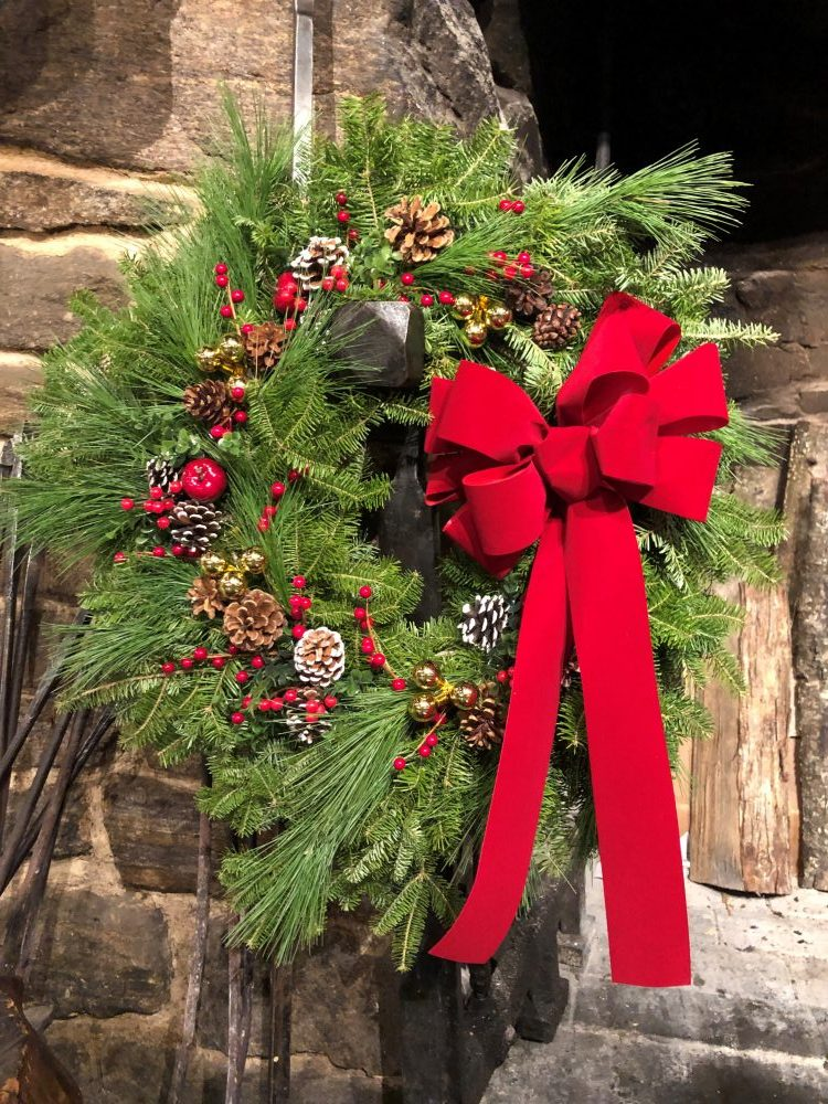 Wreath image for Deck the Hall event